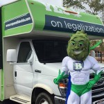 Marijuana legalization group ResponsibleOhio is sending out a new mascot to spread the word about the upcoming vote this fall. (Via ResponsibleOhio's Facebook page)