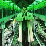 Namaste. It's a serene scene when John Mayer and other members of Grateful Dead outfit Dead & Co. tour Medicine Man's mammoth marijuana cultivation facility. (instagram.com/johnmayer)