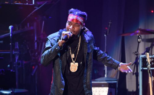 Rapper Fetty Wap performs at the Clive Davis Pre-Grammy Gala in Beverly Hills, Calif., on Feb. 14, 2016. (Chris Pizzello, Invision/AP file)