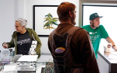 marijuana dispensary shop store