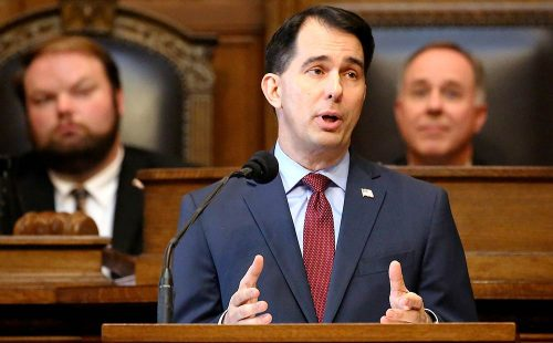 wisconsin scott walker drug test