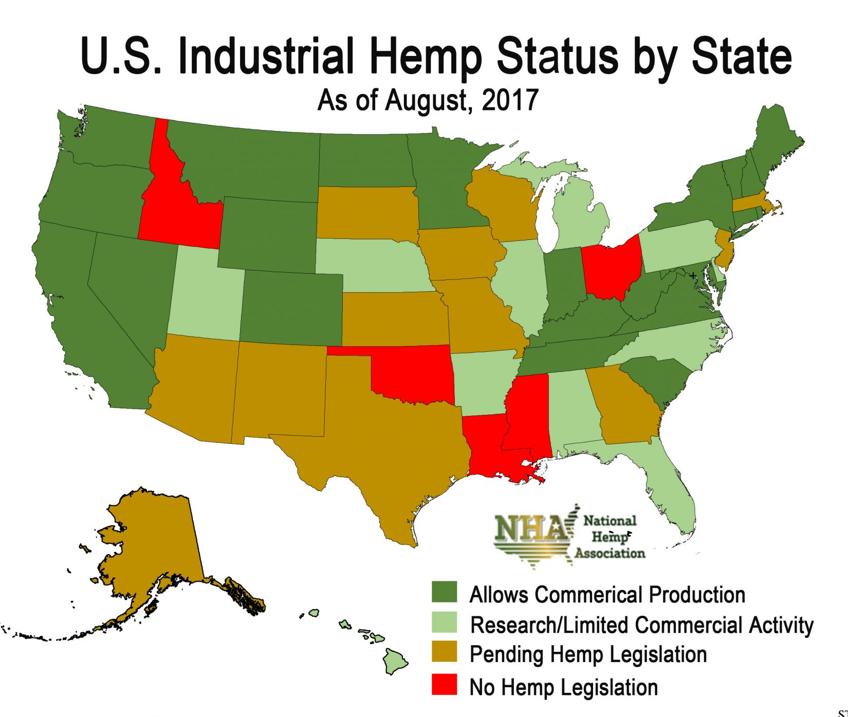 States That Legalized Marijuana On Election Day Business Insider - Us map of legal weed 2017