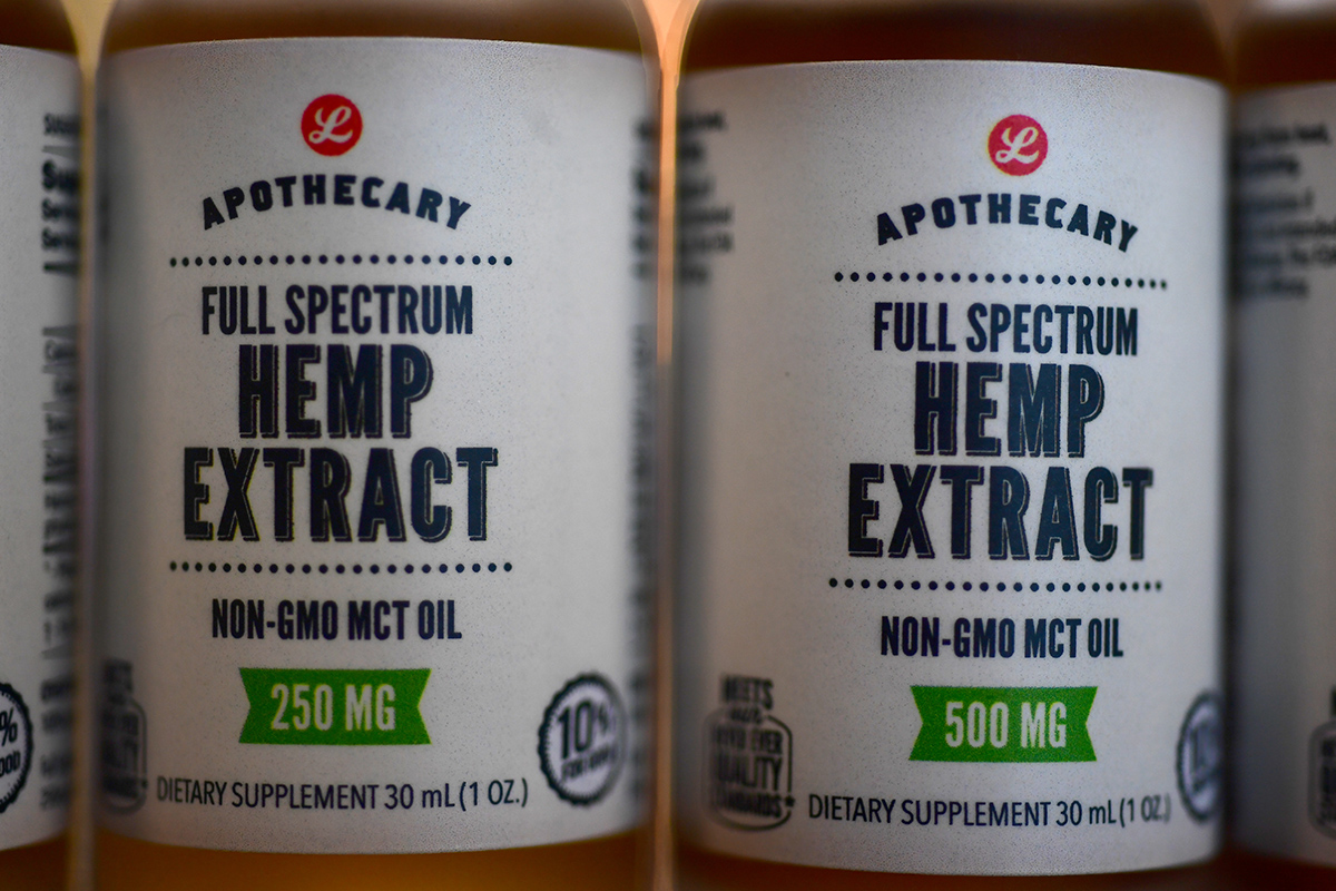 Lucky's Market takes leap with CBD oil, selling hemp